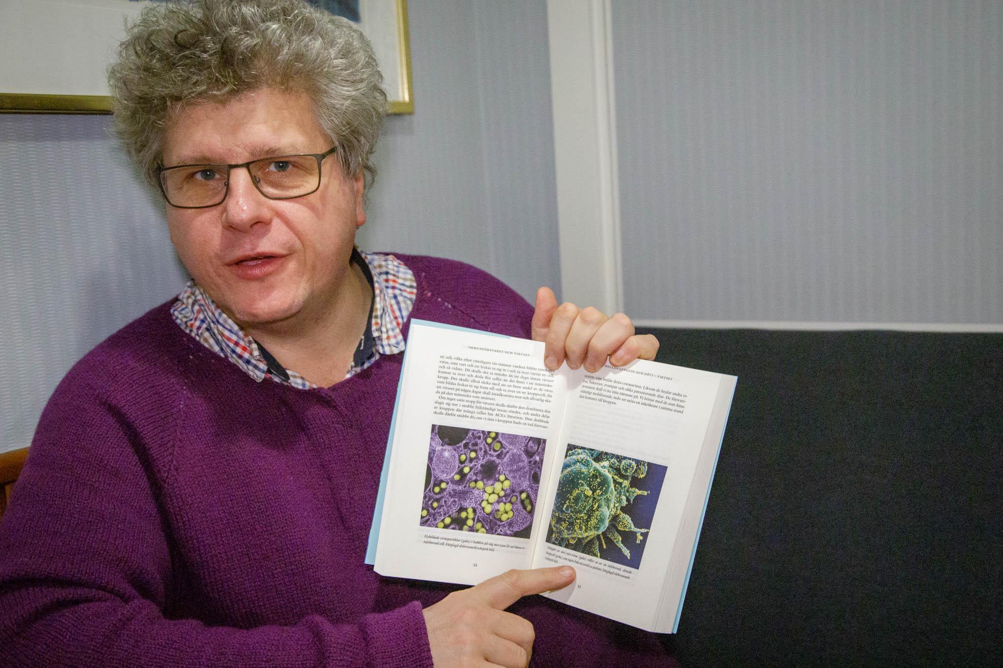 Immunförsvaret och viruset.Att förstå coronapandemin